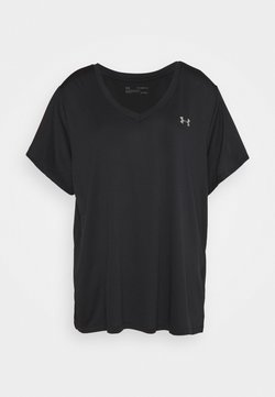 Under Armour - TECH SOLID - Camiseta básica - black