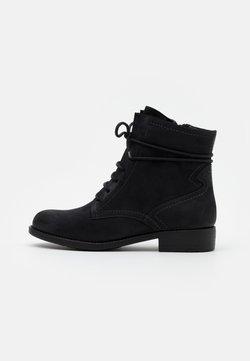 Tamaris - BOOTS - Schnürstiefelette - black