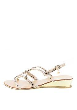 PRIMA MODA - PALIDANO  - Sandaalit nilkkaremmillä - beige
