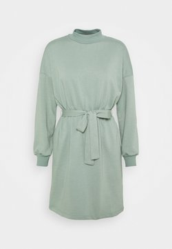 Noisy May Petite - NMALIAH DRESS - Day dress - slate gray