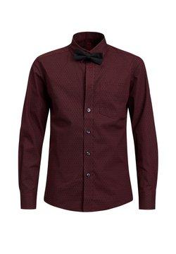 WE Fashion - MET DESSIN - Hemd - vintage red