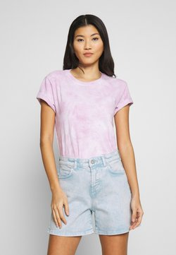 Marc O'Polo - T-Shirt print - blurred berry