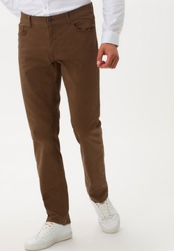 BRAX - STYLE COOPER FANCY - Straight leg jeans - nut