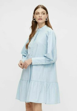 YAS - YASMIGGER - Vestido camisero - cashmere blue