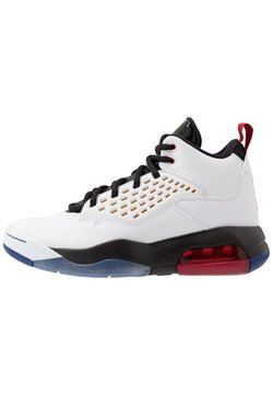 Jordan - MAXIN 200 - Basketballschuh - white/dark sulfur/black/deep royal blue/gym red