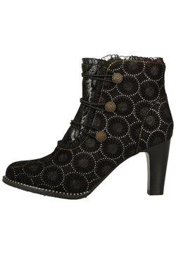 LAURA VITA - High Heel Stiefelette - noir