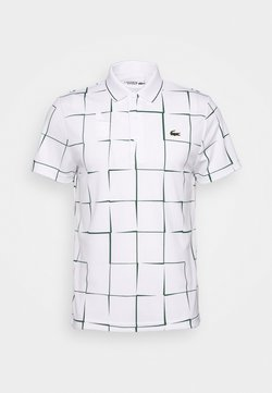 Lacoste Sport - TENNIS GRAPHIC - Funktionsshirt - white/green