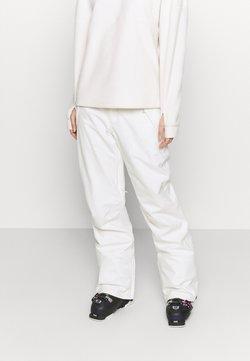 Burton - SOCIETY STOUT - Pantalón de nieve - stout white