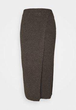 PIECES Tall - PCSUNA SKIRT  - Jupe trapèze - mole