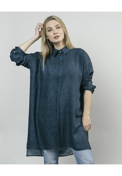 Brava Fabrics - Vestido camisero - blue