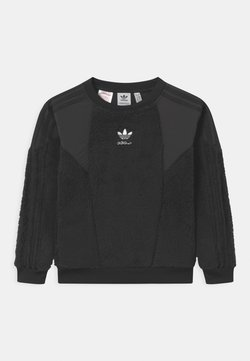 adidas Originals - CREW UNISEX - Sweat polaire - black