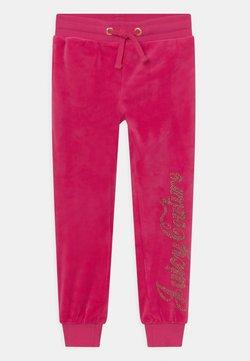 Juicy Couture - LUXE DIAMANTE - Verryttelyhousut - pink yarrow
