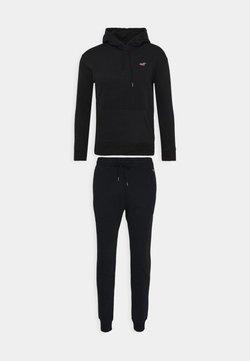 Hollister Co. - SET SWEATSHIRT AND SWEATPANTS  - Sweatshirt - black