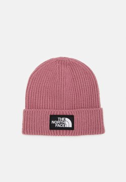 The North Face - LOGO BOX CUFFED BEANIE UNISEX - Mütze - mesa rose