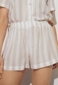 OYSHO - OAT - Nachtwäsche Hose - beige