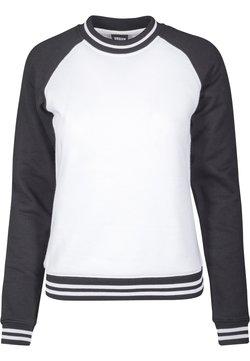 Urban Classics - Sweatshirt - white/black