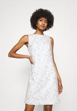 Lauren Ralph Lauren - MELLIE SLEEVELESS EVENING DRESS - Juhlamekko - white/silver