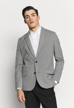 New Look - TONY PINSTRIPE - Puvuntakki - light grey
