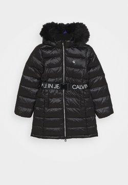 Calvin Klein Jeans - ESSENTIAL LONG - Dunkappa / -rock - black