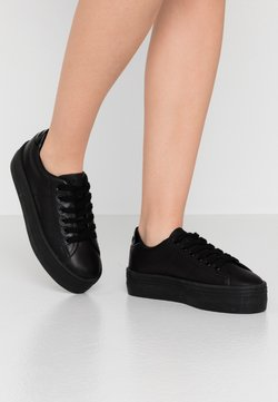 No Name - PLATO  - Sneakers laag - black