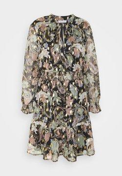 ONLY - ONLSASHA DETAIL DRESS - Freizeitkleid - black