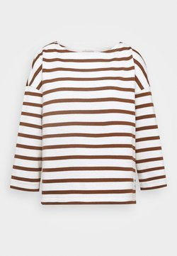 Marc O'Polo - T-shirt à manches longues - multi/chestnut brown