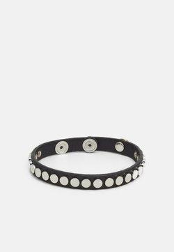Replay - STUDDED BRACELET - Bracelet - black