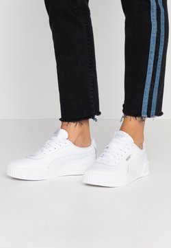 Puma - CARINA  - Baskets basses - white/silver