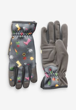 Next - FLORAL PRINT GARDENING - Fingerhandschuh - grey