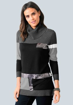 Alba Moda - Strickpullover - schwarz,grau,silberfarben