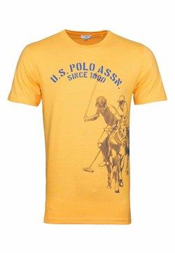 U.S. Polo Assn. - T-shirt con stampa - orange