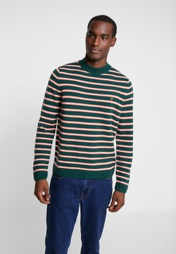 Farah - BRUCE STRIPE  - Jumper - bright emerald