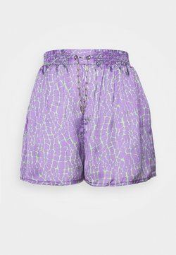 The Ragged Priest - ROOTS - Shorts - purple/lime