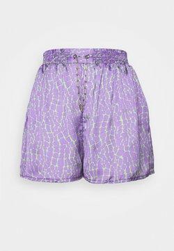 The Ragged Priest - ROOTS - Shortsit - purple/lime