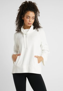 Deha - FELPA COLLO ALTO - Camiseta de manga larga - white