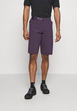 Fox Racing - FLEXAIR SHORT NO LINER - kurze Sporthose - dark purple