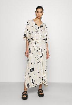 Monki - CARRO DRESS - Maxi-jurk - beige