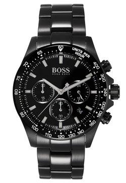 BOSS - Montre à aiguilles - black/black