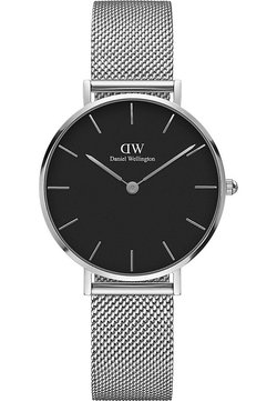 Daniel Wellington - PETITE STERLING 32MM - Zegarek - silver-coloured/black
