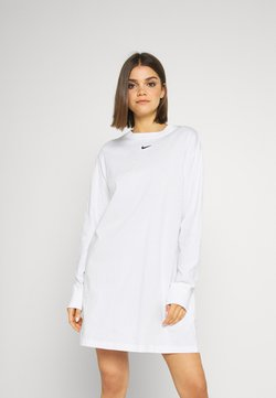 Nike Sportswear - DRESS - Jerseykleid - white
