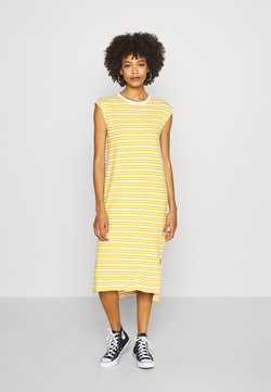 GAP - MIDI - Jerseykleid - yellow