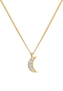 Elli - HALF MOON - Halskette - gold