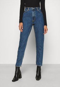 Monki - KIMOMO LA LUNE - Straight leg -farkut - blue medium dusty
