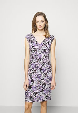 Lauren Ralph Lauren - MATTE DRESS - Vestido de tubo - raisin/purple