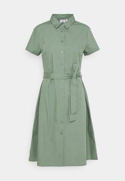 ICHI - SARAH - Vestido camisero - green bay