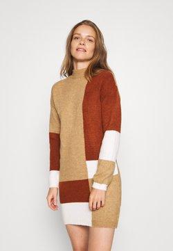 Trendyol - Vestido de punto - brown