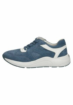 Caprice - Sneaker low - blue/white