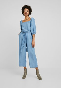 Cream - VINCA JUMPSUIT - Combinaison - blue denim