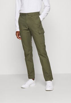 Tommy Hilfiger - DENTON PANT - Cargo trousers - khaki