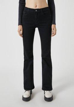 PULL&BEAR - Jeans bootcut - mottled black